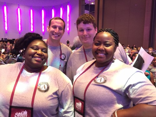 """""""My AmeriCorps experience was extremely rewarding,"""" said Gerhardt Schuette, AmeriCorps Member, United Way of Saginaw County. """"It's a great way to give your all to improve your community while developing professional skills simultaneously."""""""