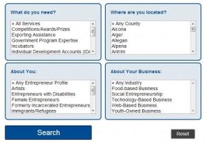 screenshot of MNM Resource Directory