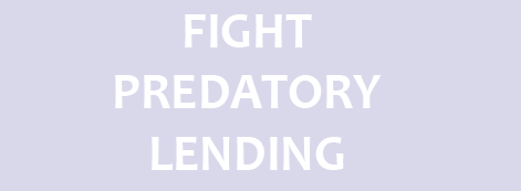 Fight Predatory Lending
