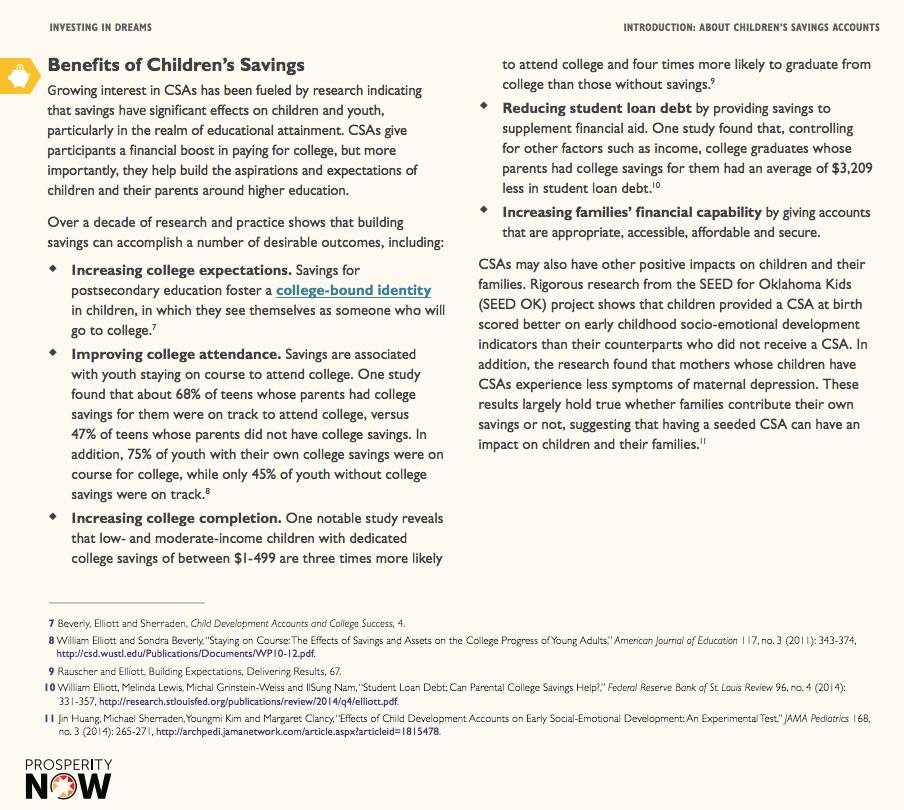 CEDAM and Partners Lead Michigan Children's Savings Account (CSA) Consortium