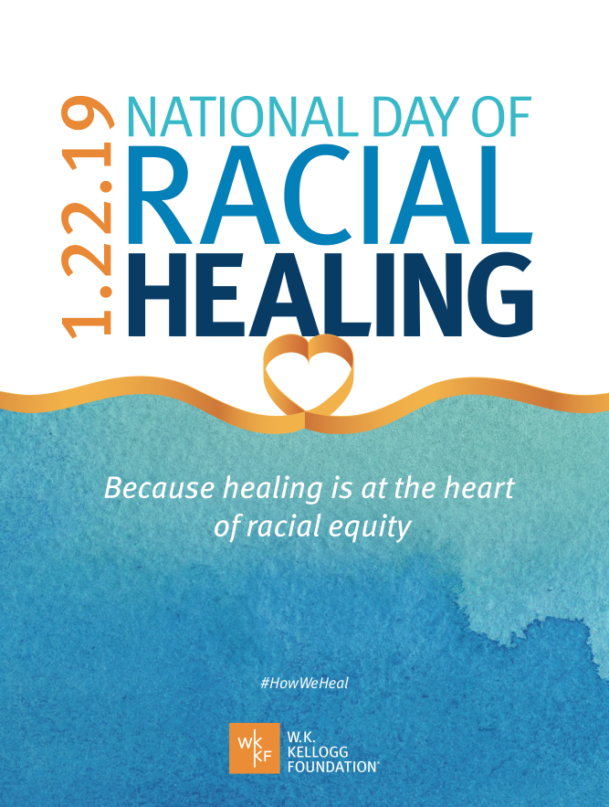 National Day of Racial Healing: Because healing is at the heart of racial equity