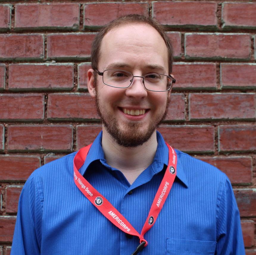 Meet CEDAM's new AmeriCorps VISTA Leader, Zach Miller