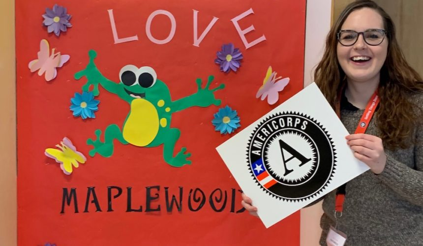 AmeriCorps Feature: Faith Briggs Hosts Technology Dependence Forum in Garden City