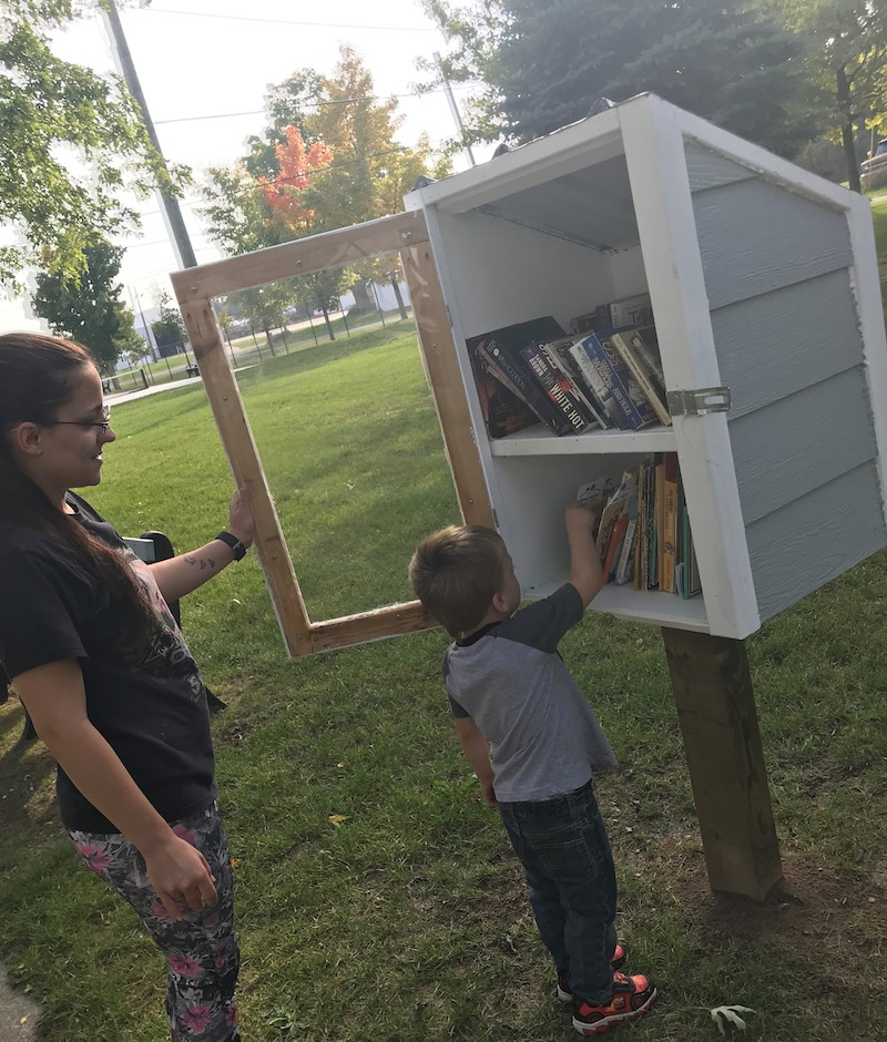 Member Feature: Little Free Libraries Help Bring Books to All in Oceana County Area