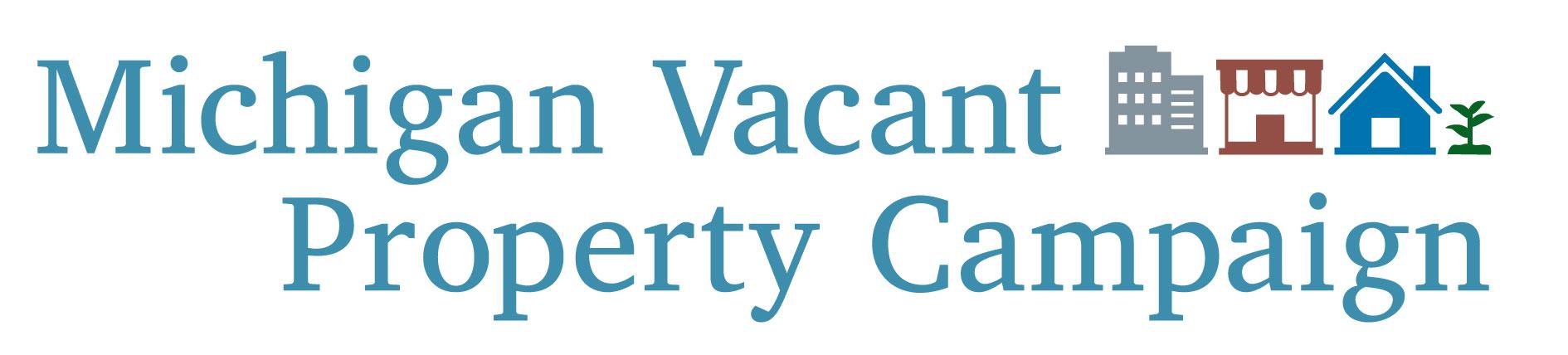 Michigan Vacant Property Campaign Logo